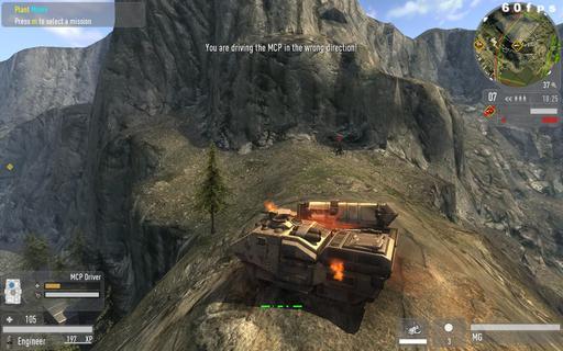 Enemy Territory: Quake Wars - Свои скриншоты (реалные:)
