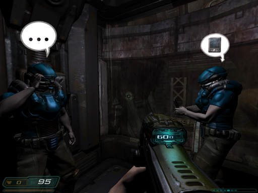 Doom 3 - Dooм 3 в кооперативе?