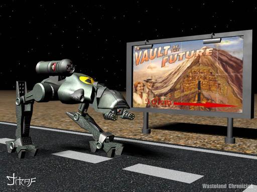 Fallout 2 - Фан-арт по миру Fallout