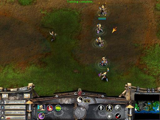 Battle Realms - Юниты клана Змей