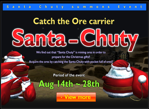 Santa-Chuty gives you Coooooool Events!