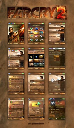 Far Cry 2 - Тема по игре для Sony Ericsson