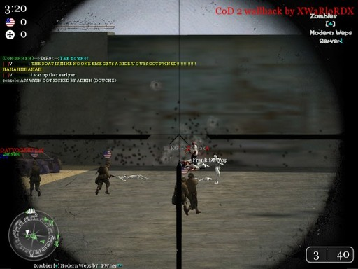 Call of Duty 2 - Зомби сервера