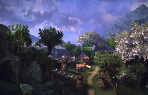 TERA: The Exiled Realm of Arborea - Скриншоты New Moon Village и Forgotten Jungle