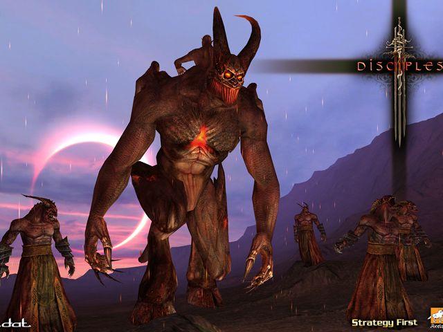 Обзор игры Disciples III: Renaissance. Обои на рабочий стол из #D. Для до