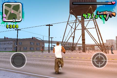 Grand Theft Auto: San Andreas - GTA на IPhone