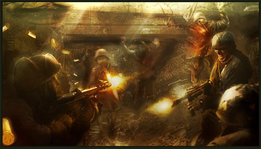 Call of Duty: World at War - Concept Art