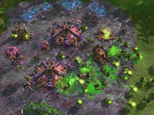 StarCraft II: Wings of Liberty - Зерг и Инъекция личинок. Отчёт с BlizzCon'a (Обновлено)
