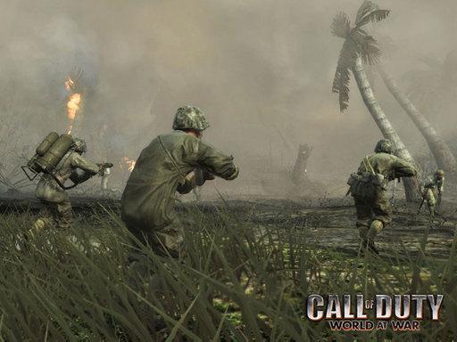 Call of Duty: World at War - Обои на рабочий стол