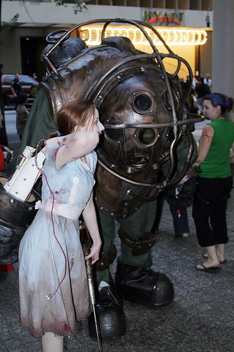 BioShock - Костюм Большого Папочки