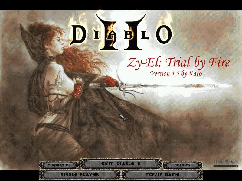 Diablo II Zy-El Mod - Rogue Encampment мелодия в mp3 формате, саундтрек, ви