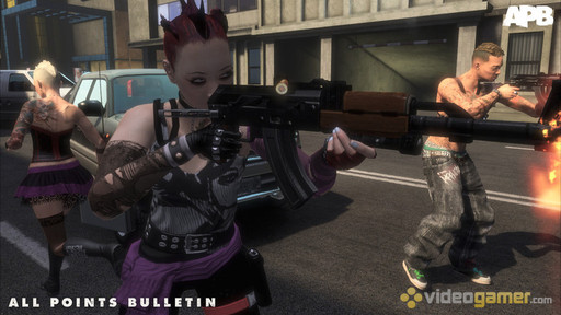 APB: Reloaded - All Points Bulletin - All Points Bulletin - PAX 2009 Trailer