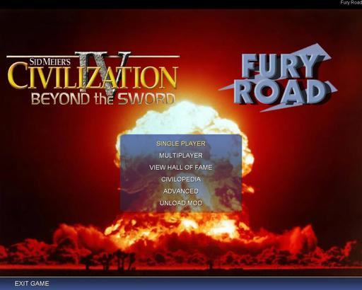 Civilization IV - Модификация Fury Road