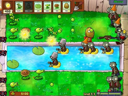 Вышла интернет-версия Plants vs. Zombies