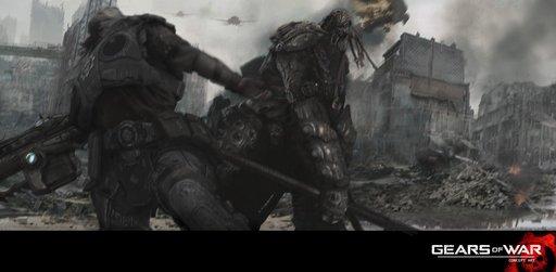 Gears of War 2 - Первый Концепт-Арт для Gears of War: The Movie