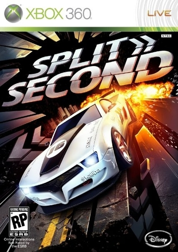Split/Second - Бокс-арт Split/Second