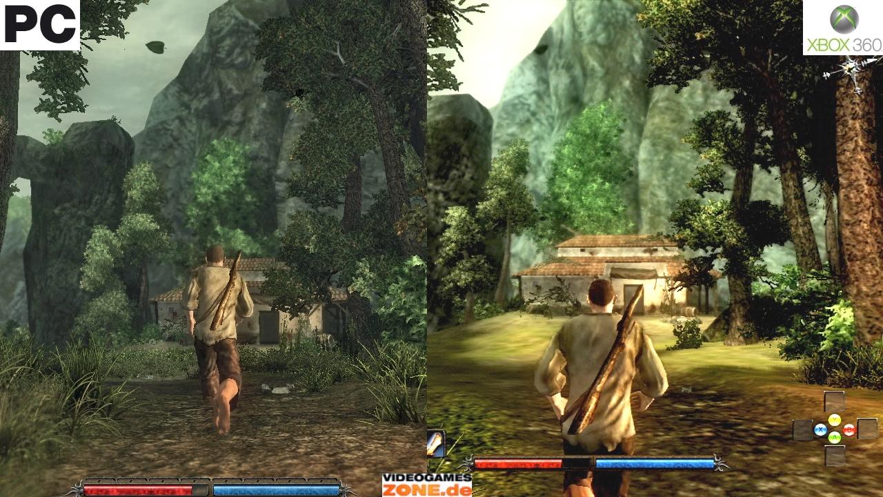 PC vs Xbox 360 сравнение графики — Risen ...: www.gamer.ru/risen/pc-vs-xbox-360-sravnenie-grafiki