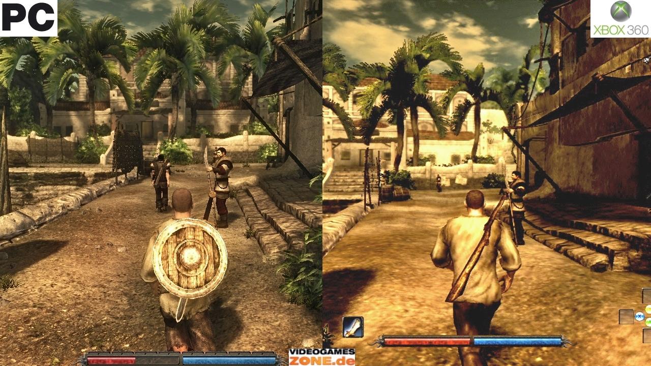 PC vs Xbox 360 сравнение графики — Risen — Игры — Gamer.ru ...