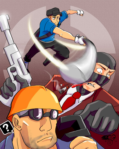 Team Fortress 2 - Немного арта