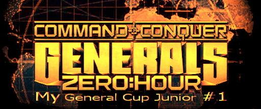 Command & Conquer: Generals Zero Hour - My General Cup Junior #1, Турнир для новичков и тех, кто сомневается
