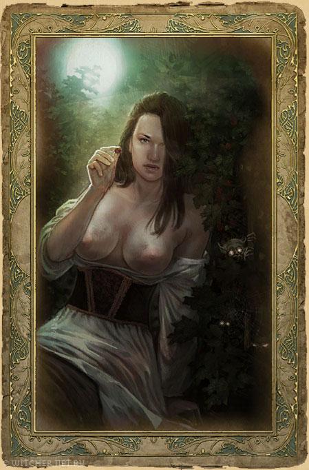 Секс карточки ведьмак