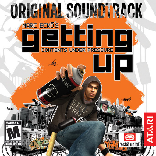 Marc Ecko's Getting Up: Contents Under Pressure Limited Edition Soundtrack