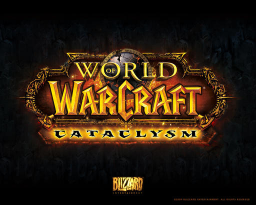 World of Warcraft: Cataclysm - Официальные обои от Blizzard