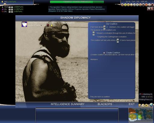 Civilization IV - Модификация White Lies Black Ops