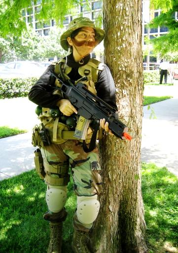 Call of Duty 4: Modern Warfare - Cosplay на тему Modern Warfare