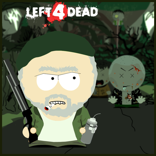 Left 4 Dead - Left 4 Dead и South Park style (by minik)