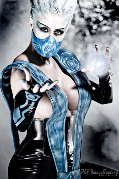 Frost from Mortal Kombat in Real Life NSFWish MediaStinger.
