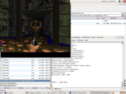 Doom II - Skulltag - мультиплеерный порт и сервер
