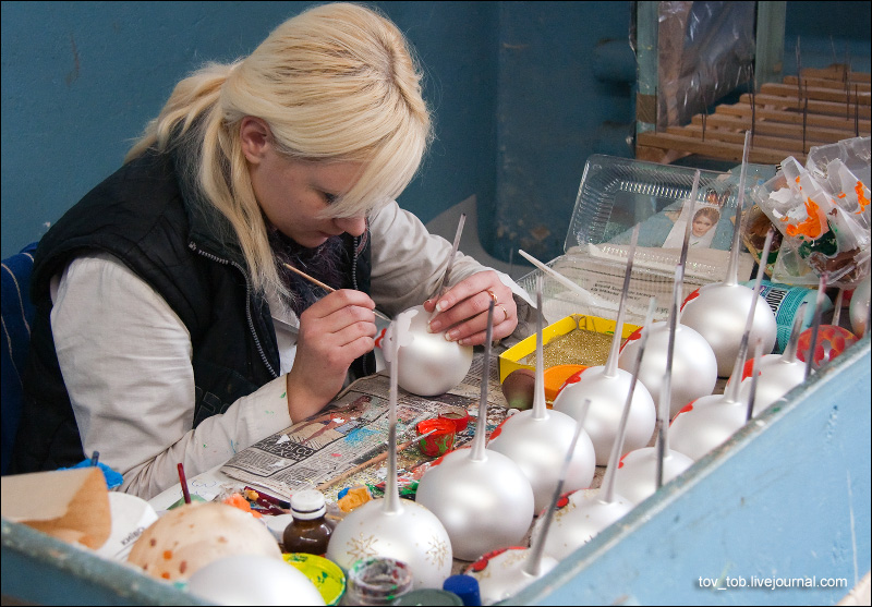Изготовления новогодней игрушки своими руками