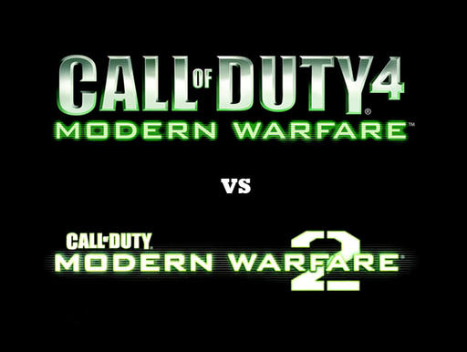 Call of Duty 4: Modern Warfare - CoD4 vs MW2! Ваш выбор?