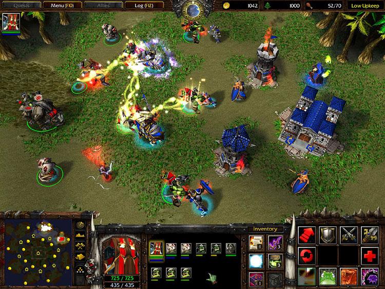Стандартные Карты на Warcraft 3 Frozen Throne