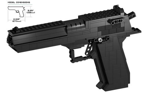 инструкция по сборке пистолета из лего видео - фото 3