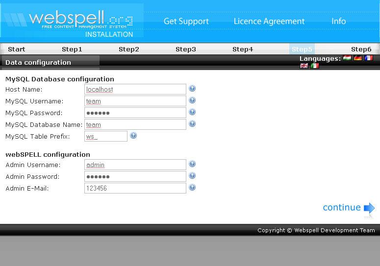 Как сделать сайт на webspell бесплатный хостинг сайтов гугл