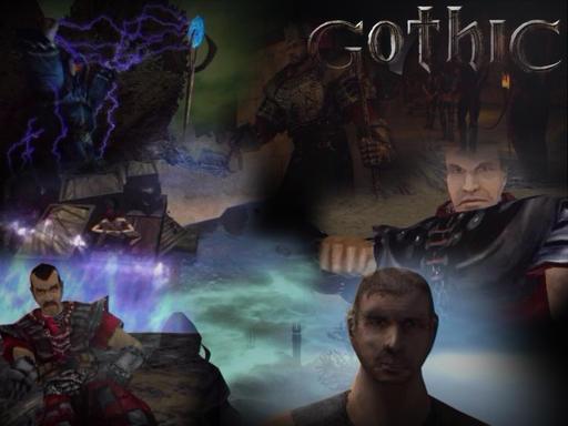Название: Готика 1 Оригинальное название: Gothic Дата выхода: 2001 Разработ