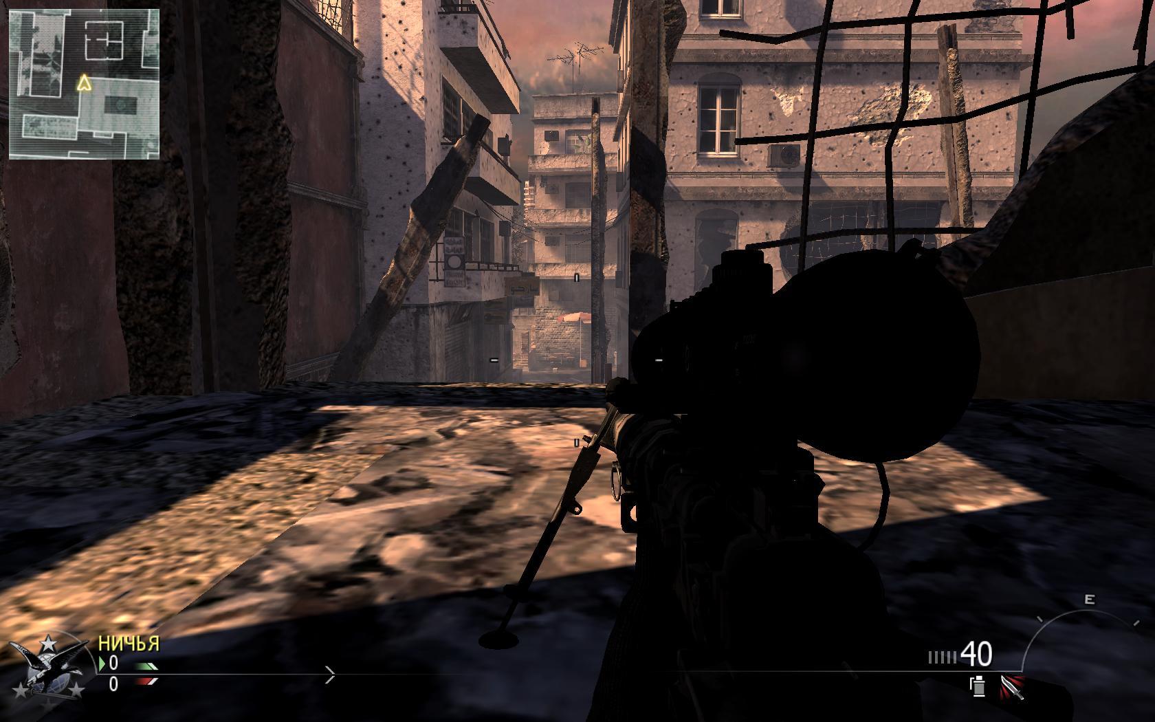 Недефолтные места для снайпера  Karachi  — Modern Warfare 2 — Игры