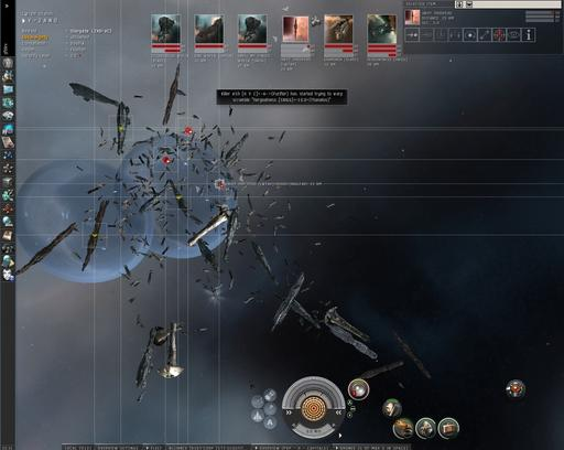 EVE Online - Y-2 Capital Fight
