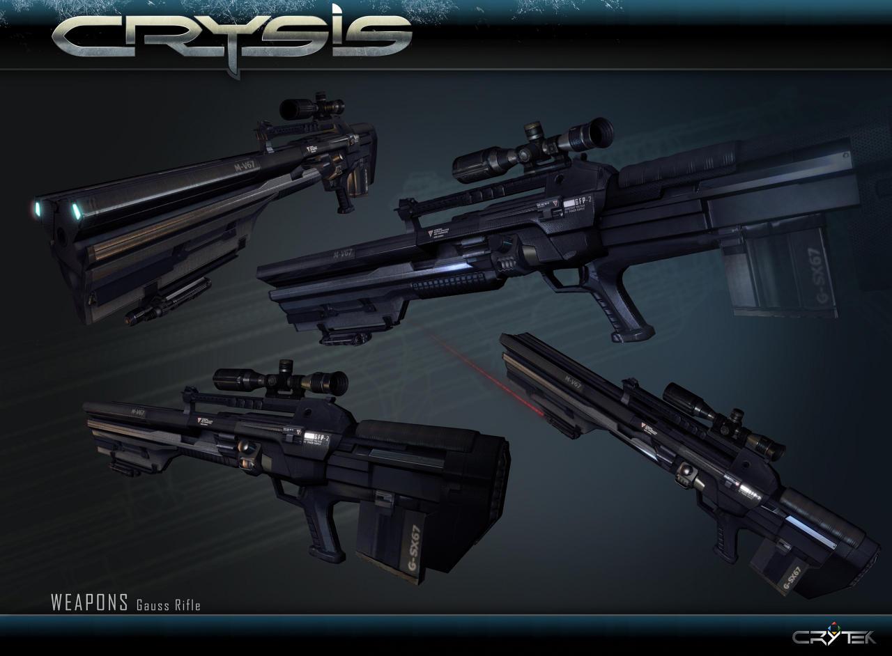 В игре Crysis вам доступны практически все виды оружия, присущие жанру: начиная от пистолетов, автоматов...