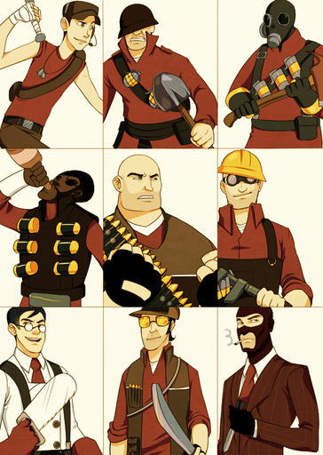 Team Fortress 2 - TF2 Fan Art