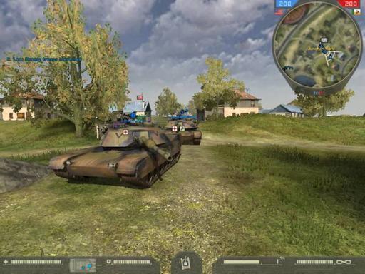 Battlefield 2 - Стратегия танковой войны