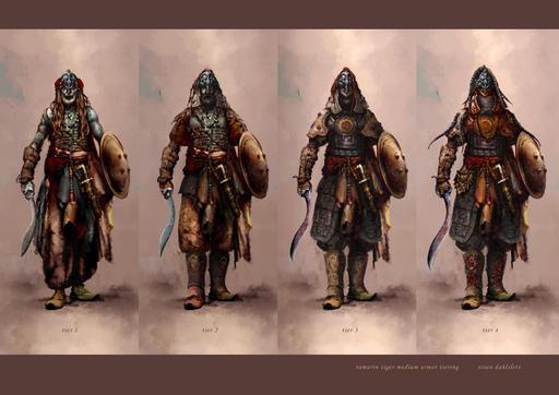 Age of Conan: Hyborian Adventures - Концепт арты дополнения Rise of the Godslayer. Часть 2.