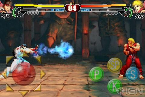 Street Fighter IV на iPhone и iPod Touch [Prerelease]