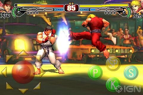 Street Fighter IV - Street Fighter IV на iPhone и iPod Touch [Prerelease]