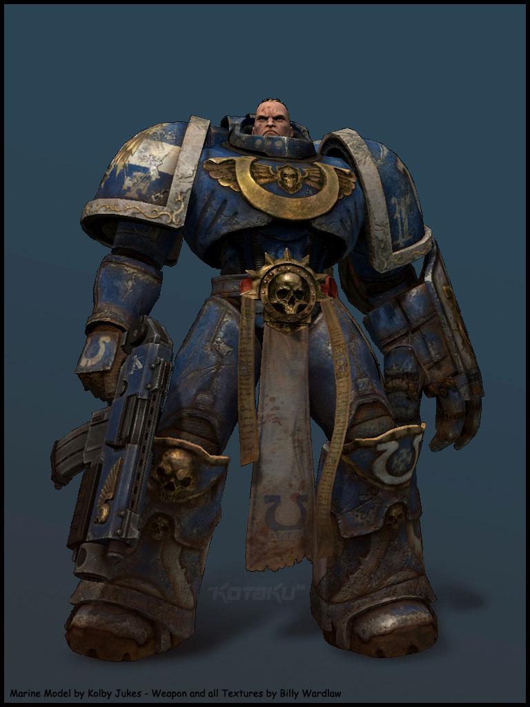 Долгожданные подробности о MMORPG Warhammer 40K Online — Новости