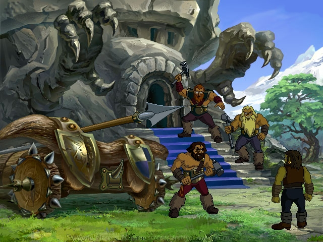 Warcraft Adventures Lord Of The Clans скачать