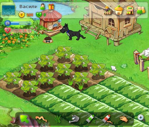 Этот раздел назван так в честь знаменитой игры Счастливый Фермер