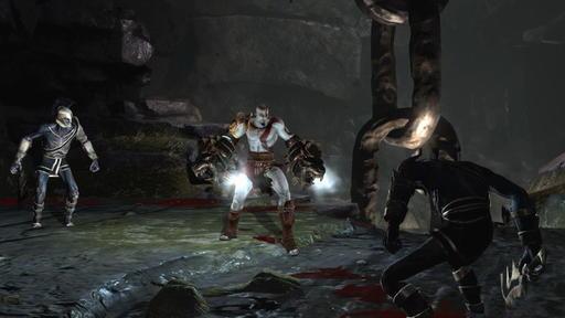God of war 3 сексуальная миниигра